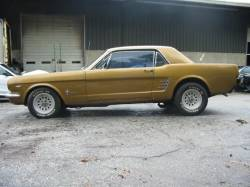 1966 Ford Mustang 289 - Gold