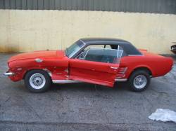 1966 Ford Mustang 289 - Red