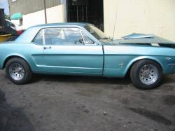 Parts Cars - 1966 Ford Mustang 289 4V - Blue