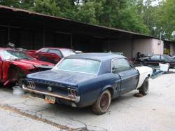 Parts Cars - 1967 Ford Mustang