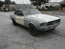 Parts Cars - 1967 Ford Mustang 289 - White