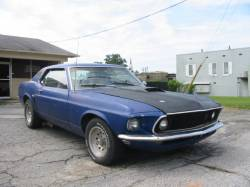 1964-1973 - Parts Cars - 1969 Ford Mustang 351 W - Blue