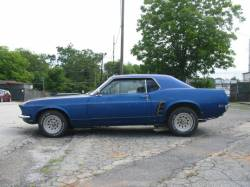 1969 Ford Mustang 351 W - Blue - Image 2