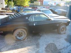 Parts Cars - 1969 Ford Mustang 351 Windsor - Black