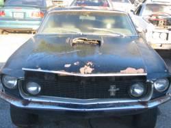 1969 Ford Mustang 351 Windsor - Black - Image 2