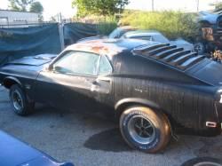 1969 Ford Mustang 351 Windsor - Black - Image 4