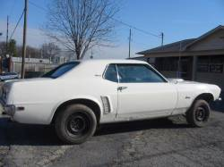 Parts Cars - 1969 Ford Mustang 302 missing - White