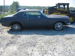 Parts Cars - 1969 Ford Mustang 6 cyl - Gray