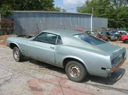 1964-1973 - Parts Cars - 1970 Ford Mustang - Blue