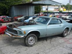1970 Ford Mustang - Blue - Image 2