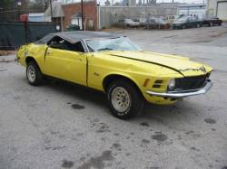 1970 Ford Mustang 302-4V - Yellow