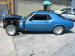 Parts Cars - 1970 Ford Mustang 302 4V - Blue