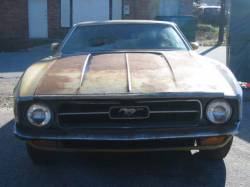 Parts Cars - 1971 Ford Mustang 351C - Mustard