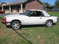 Parts Cars - 1984 Ford Mustang 5.0 - White