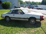 1984 Ford Mustang 5.0 - White