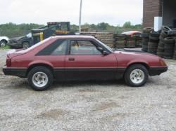 1979-1986 - Parts Cars - 1984 Ford Mustang 5.0 - RED