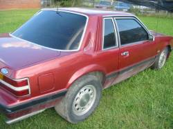 1979-1986 - Parts Cars - 1985 Ford Mustang 5.0L - Red