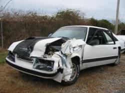 Parts Cars - 1985 Ford Mustang 5.0 HO - White & Black