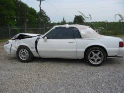 Parts Cars - 1985 Ford Mustang 5.0 HO - White