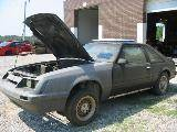 Parts Cars - 1985 Ford Mustang - Grey Primer