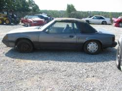 1979-1986 - Parts Cars - 1985 Ford Mustang 5.0 - Gray