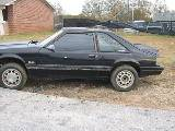 1986 Ford Mustang - Black