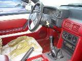 1987 Ford Mustang 5.0 5 Speed - Red/white top - Image 4