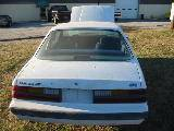 Parts Cars - 1986 Ford Mustang 3.8L V6 - White