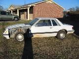 1986 Ford Mustang 3.8L V6 - White - Image 3