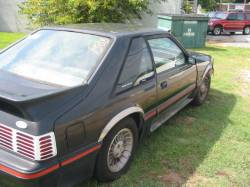Parts Cars - 1987 Ford Mustang 5.0 HO Automatic - Black