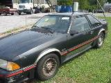 1987 Ford Mustang 5.0 HO Automatic - Black - Image 2