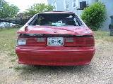 1987 Ford Mustang 5.0 HO T-5 - Red - Image 3