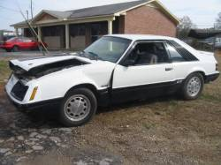 Parts Cars - 1986 Ford Mustang 5.0 - White