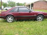 1987 Ford Mustang 5.0 HO AOD - Burgundy - Image 2