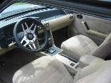 1987 Ford Mustang 5.0 HO AOD - Burgundy - Image 3