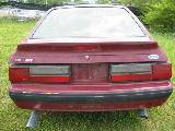 1987 Ford Mustang 5.0 HO AOD - Burgundy - Image 5