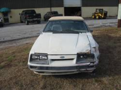 1979-1986 - Parts Cars - 1986 Ford Mustang 5.0 - White