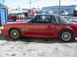 Parts Cars - 1987 Ford Mustang 5.0 HO 5-Speed - Red