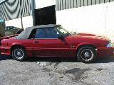 1987 Ford Mustang 5.0 HO 5-Speed - Red - Image 2