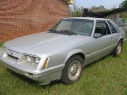 Parts Cars - 1986 Ford Mustang 5.0 - Silver