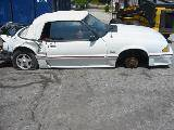 1987 Ford Mustang 5.0 T-5 Five Speed - White - Image 2