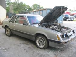 Parts Cars - 1986 Ford Mustang 5.0 5-Speed - Silver