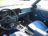 1986 Ford Mustang V-6 Auto - Blue/Black Top - Image 2