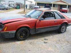 1979-1986 - Parts Cars - 1986 Ford Mustang 5.0 T-5 - Orange