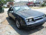 1986 Ford Mustang 5.0 HO T-5 Five Speed - Blue - Image 2