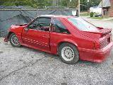 1987 Ford Mustang 5.0 AOD Automatic - Red - Image 2