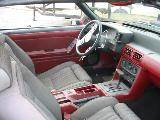 1987 Ford Mustang 5.0 AOD Automatic - Red - Image 3