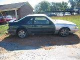 1987 Ford Mustang 5.0 T-5 Five Speed - Green & Silver - Image 2