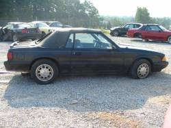 1987-1993 - Parts Cars - 1987 Ford Mustang 5.0 5 Speed - Black