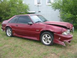 1988 Ford Mustang 5.0 Automatic - Red - Image 1